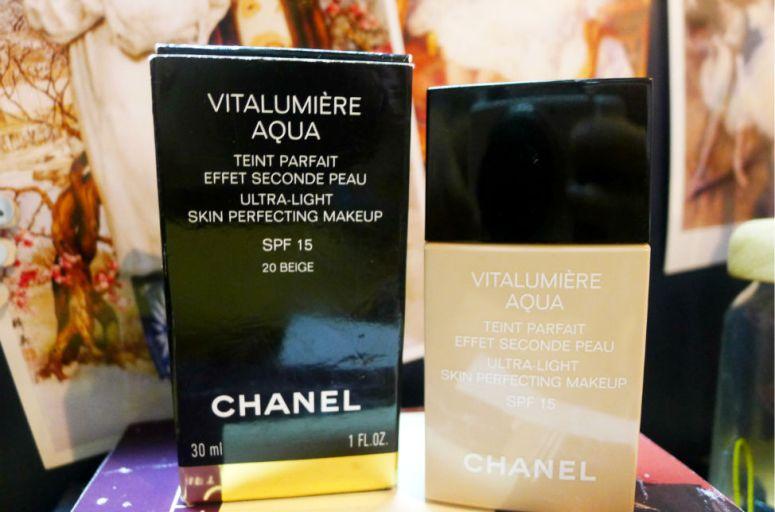 chanel vitalumier aqua
