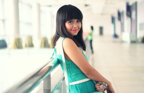 green girl 11