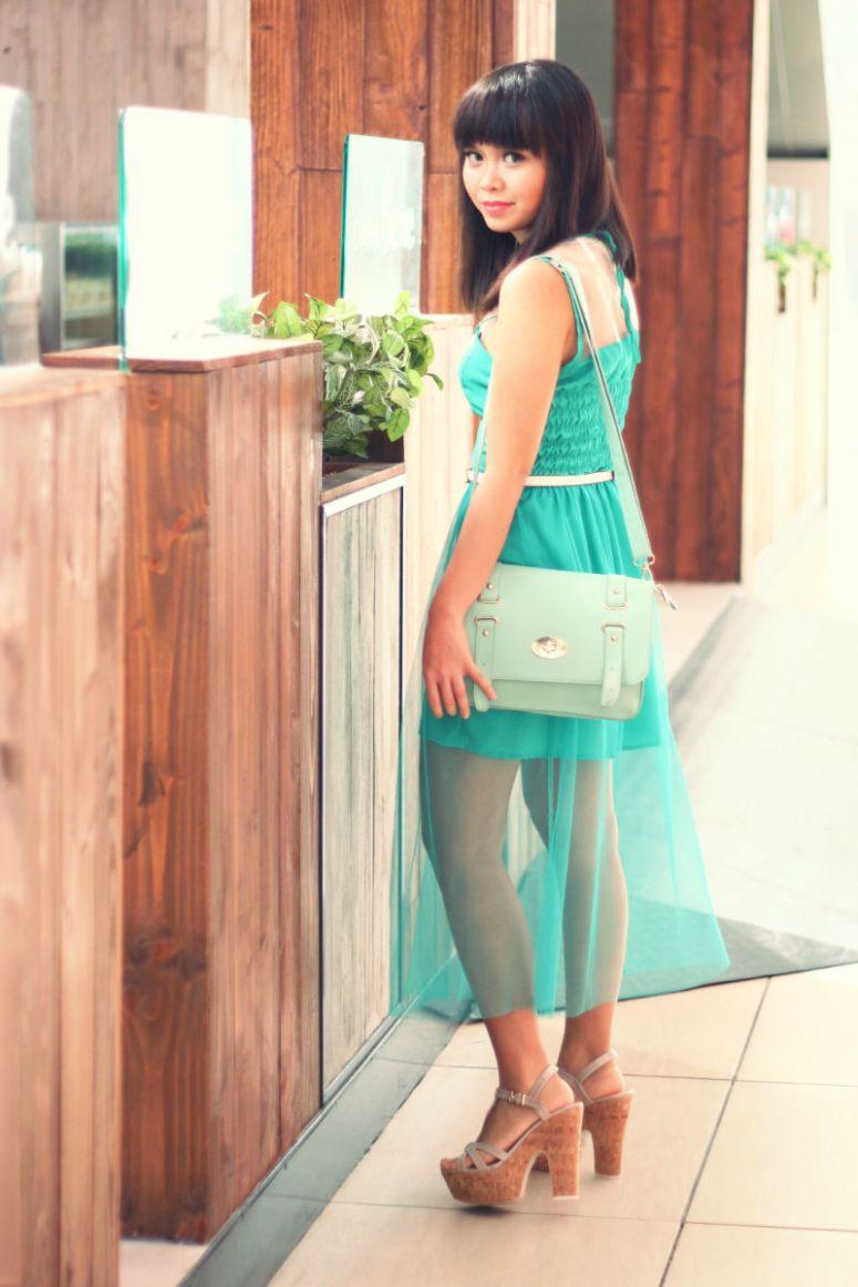 green girl 8