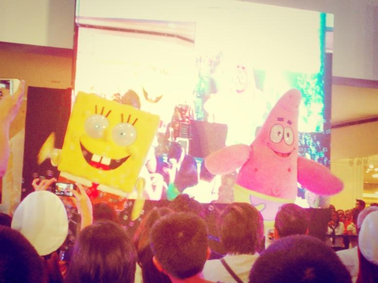 sponge bob patrick live