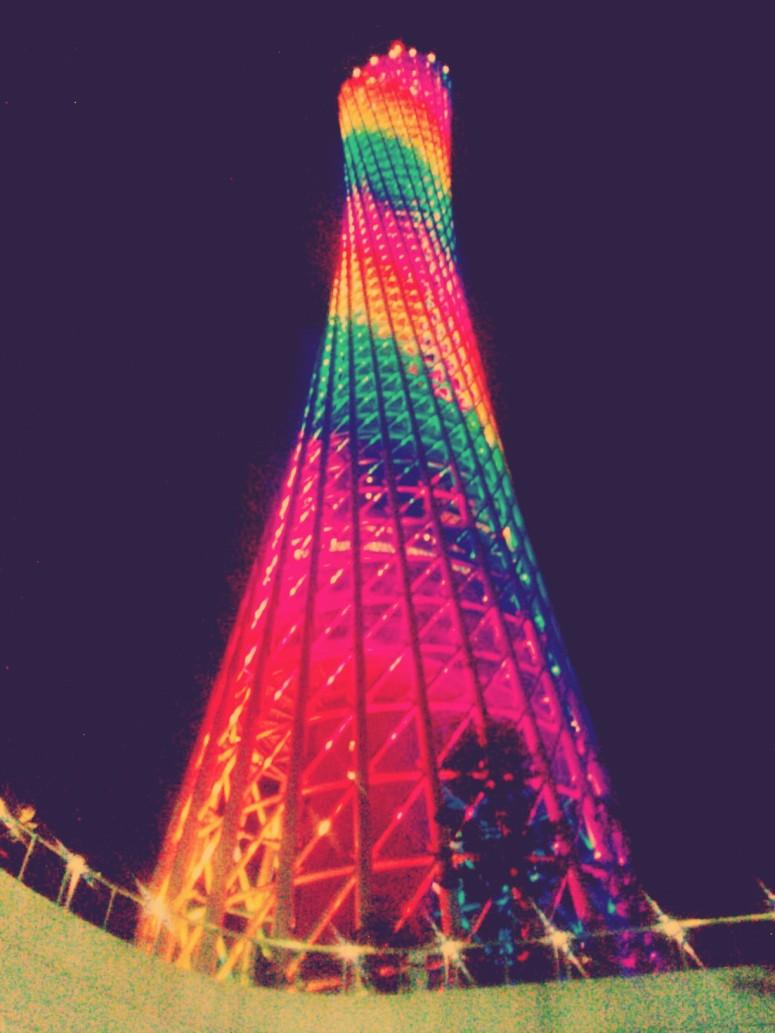 lights canton tower