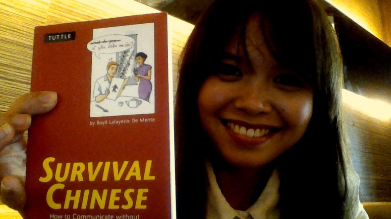 A YEAR AGO: The start of my China adventure with only this book as my guide.