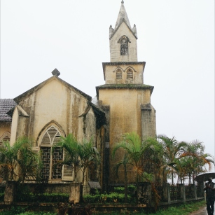 Church inside Madikeri For